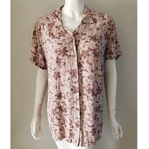 Columbia Sportswear Hawaiian Shirt